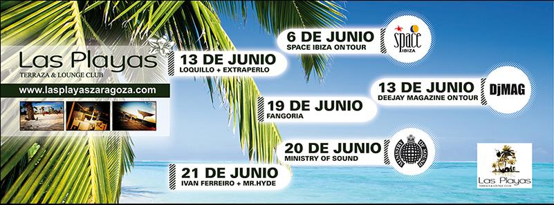 Las Playas De Zaragoza Terraza Lounge Club Zaragoza Online