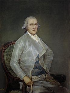 Francisco Bayeu y Subías pintado por Goya