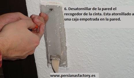Como cambiar la cinta de una persiana zaragoza online for Como cambiar la cinta de una persiana