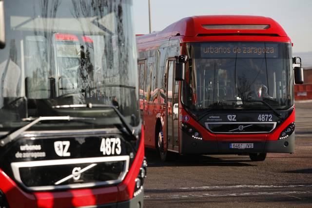 Nuevos buses híbridos