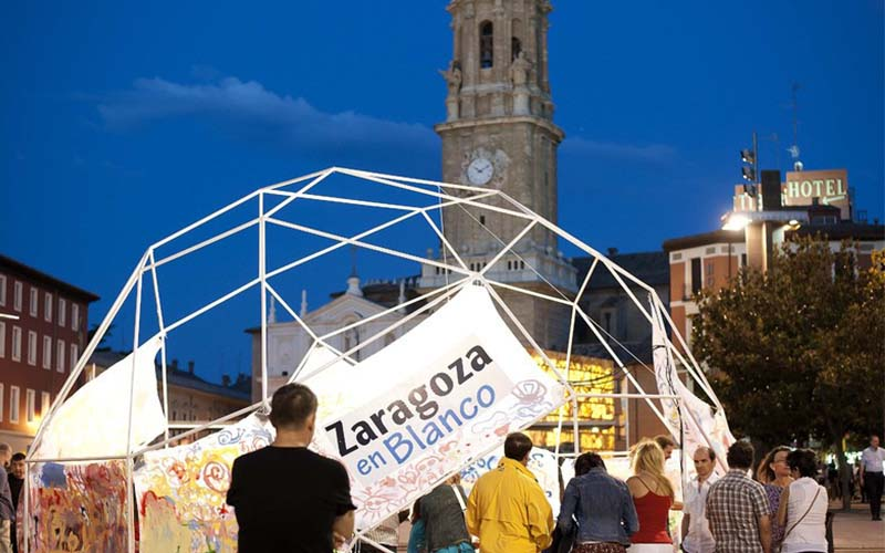 Noche En Blanco 2017 En Zaragoza Zaragoza Online
