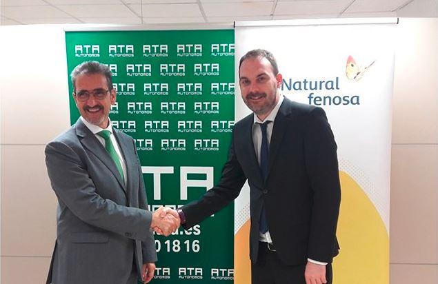 Gas Natural Fenosa y ATA Navarra acuerdan impulsar la eficiencia energética entre los autónomos navarros