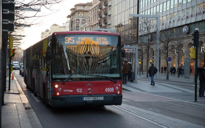 transporte publico zaragoza