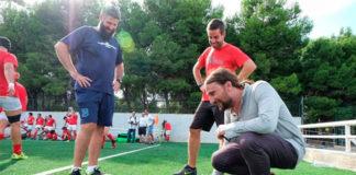 campo de rugby del CDM David Cañada