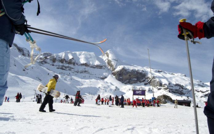 esqui en el pirineo aragones abono