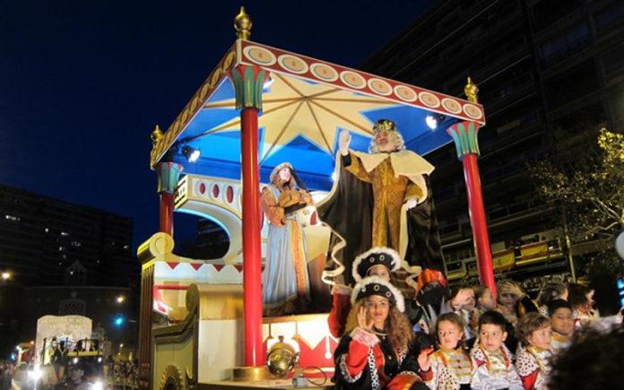 Reyes Magos cabalgata