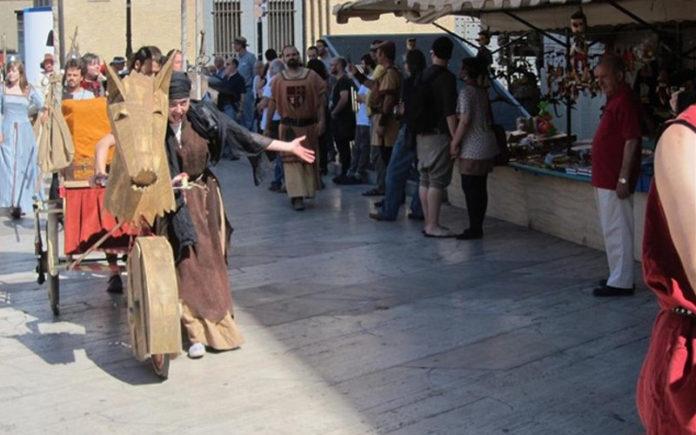 mercado medieval 3 culturas