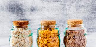 envases de vidrio para la comida