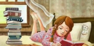 lectura de libro infantil