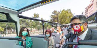 bus turístico de Zaragoza