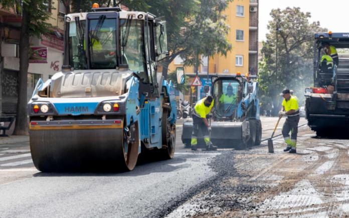 obras de asfaltado en zaragoza