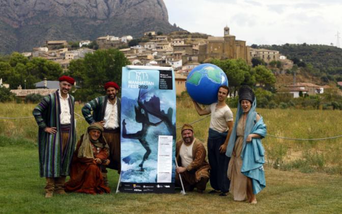 murillo de gallego acoge el festival