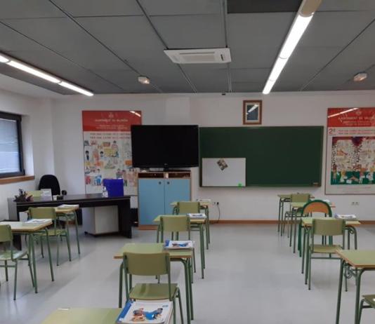 el coronavirus obliga a cerrar aulas en aragon