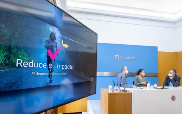 presentacion de zaragoza deporte sostenible