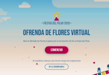 ofrenda virtual en las fiestas del pilar