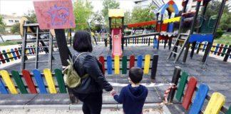renovacion de zona de juegos infantiles