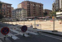 Ecologistas aparcamiento Salamero zona arbolada