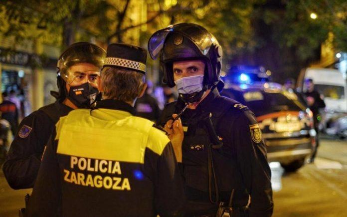 Zaragoza denuncias mascarillas