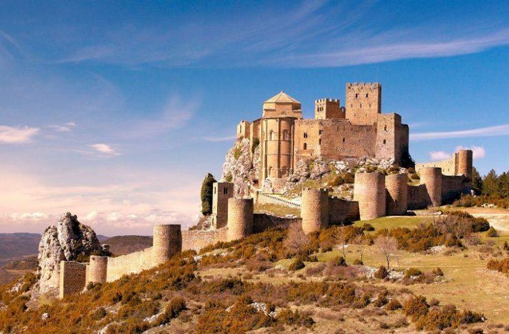 Castillo de Loarre castillos más bonitos