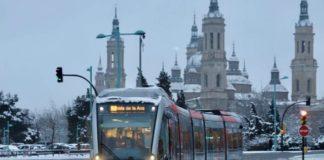 Zaragoza nevadas 2021
