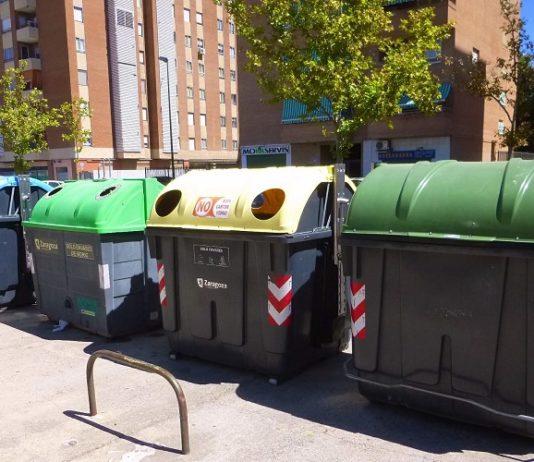 Zaragoza reciclaje residuos