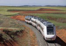 ferrocarril Zaragoza-Teruel electrificación