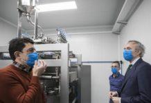 Making Mask monodosis de gel desinfectante