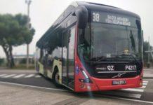 línea 38 Zaragoza autobús 100% eléctrico