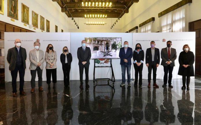 Zaragoza monumento víctimas Covid-19