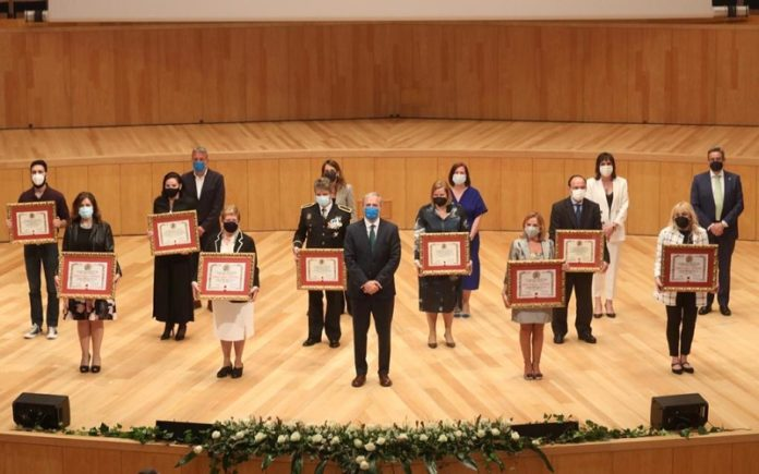 Ayuntamiento sanitarios medalla de Oro Zaragoza
