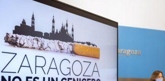 Zaragoza no es un cenicero