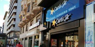 Carl's Jr. primera hamburguesería Zaragoza