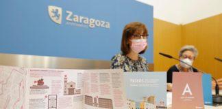 Rutas barrios huella mujeres Zaragoza