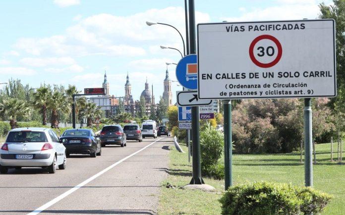 Zaragoza multas exceso de velocidad
