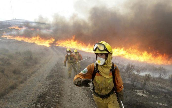 Campaña contra incendios Aragón