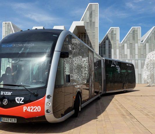 Zaragoza bus eléctrico ie tram
