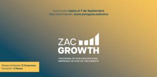 Zaragoza Activa ZAC Growth aceleración empresarial 2